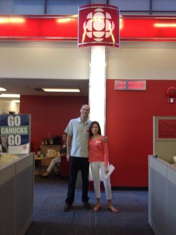 Ian and Rachel talk GMOs on CBC Morning Edition.