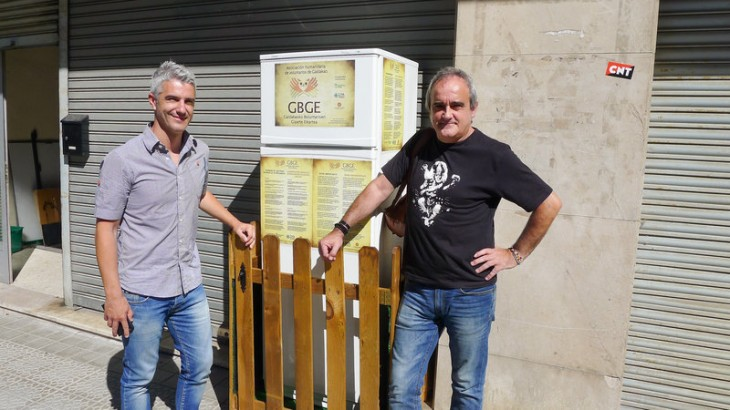 http://www.npr.org/sections/thesalt/2015/08/13/431960054/to-cut-food-waste-spains-solidarity-fridge-supplies-endless-leftovers
