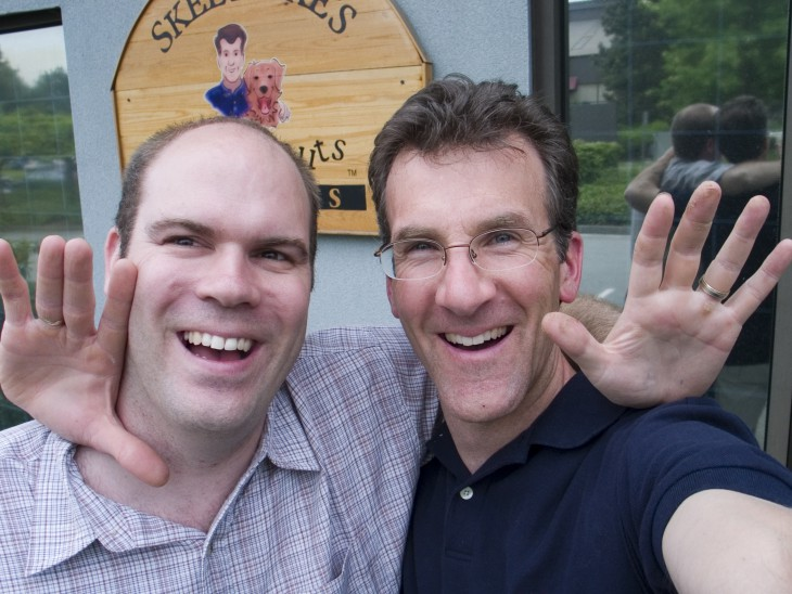 Ian Walker and Jason Doralnd -Organic Snack Food Owners - Now